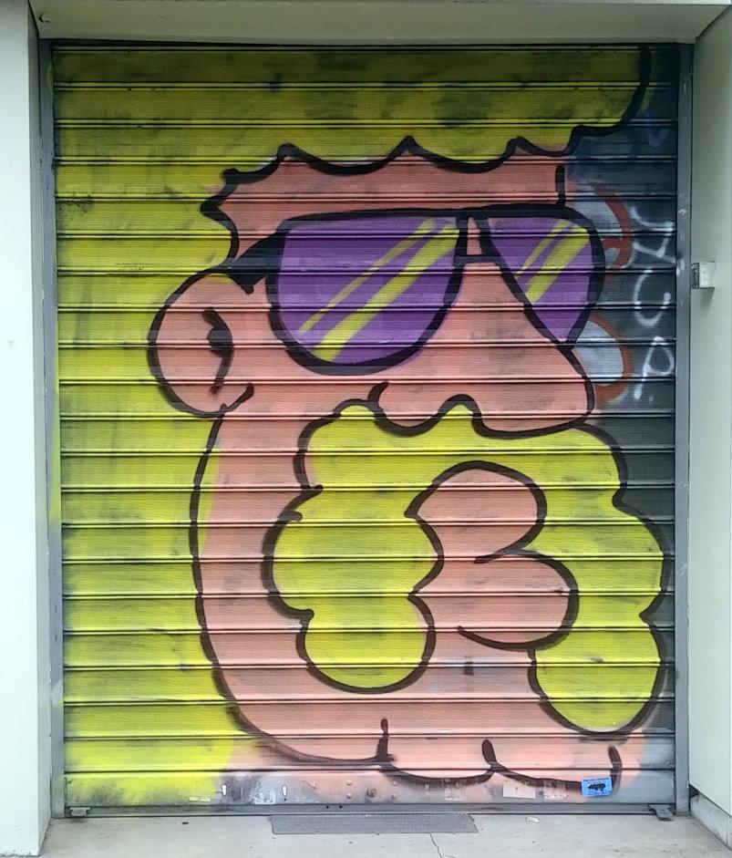 Street Art, 49 ave de la République, 11th Arrondissement, Paris, France