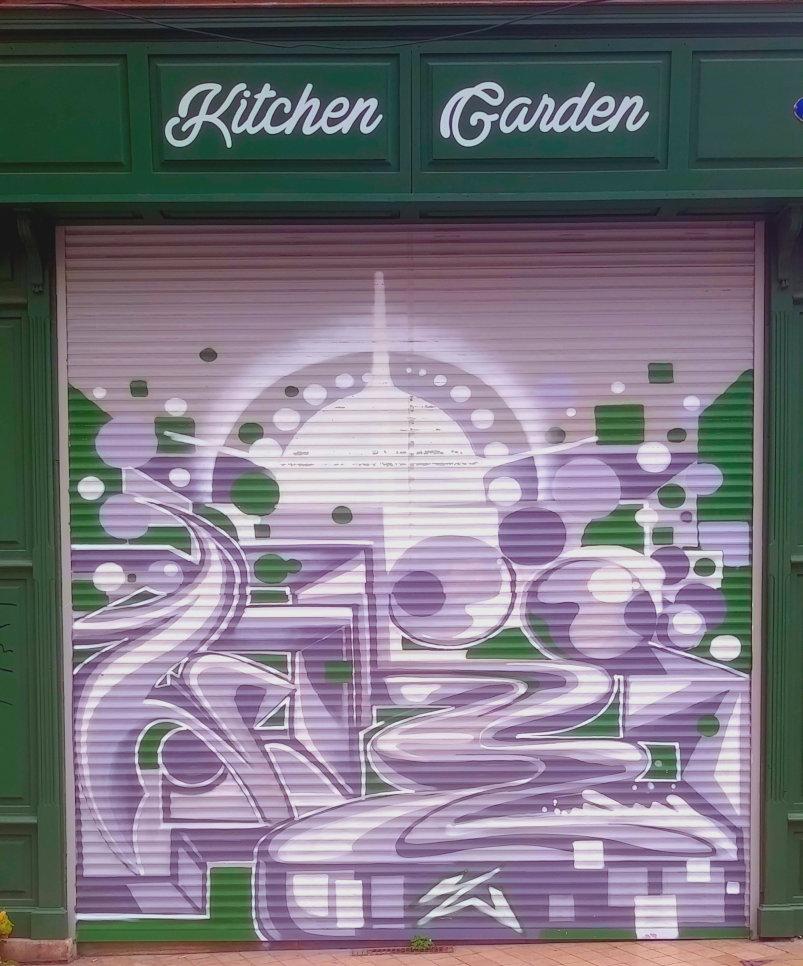 Street Art, 22 rue Sainte-Colombe, Bordeaux, France